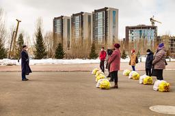 «Нұр Астана» мешіті қайырымдылық шарасын өткізді