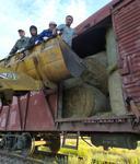 Қарағанды: Бейнеу мен Шетпеге 6000 түк шөп жіберілді