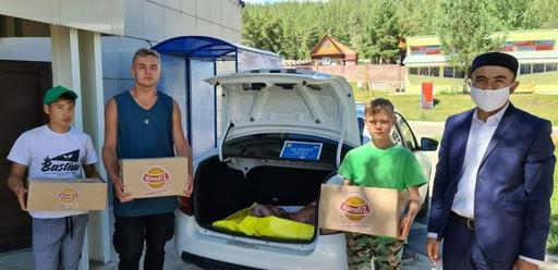 Өскемен: 500 отбасыға құрбан еті үлестірілді