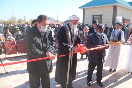 Қызылорда: Жетікөл ауылында мешіт ашылды