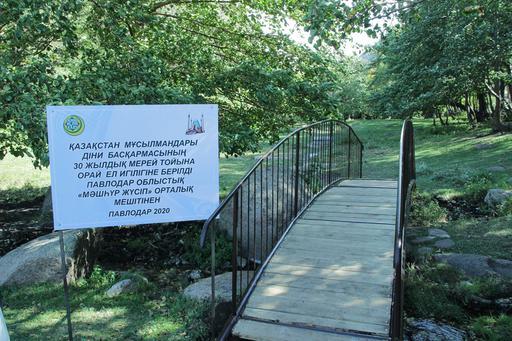 Павлодар: Два небольших моста сданы в эксплуатацию (ФОТО)