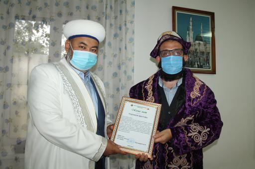 Павлодар: Харун Аяз ұстазға құрмет көрсетті
