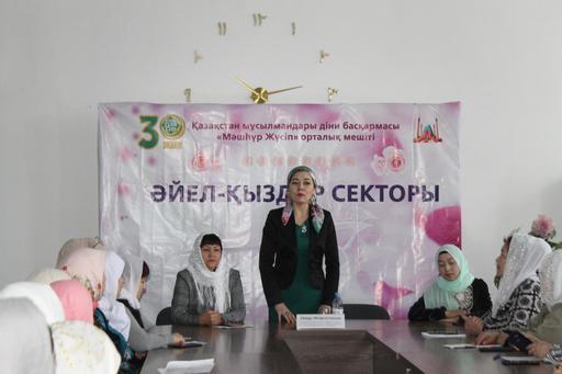 Павлодар: Айнұр Әбдірәсілқызы әйел жамағатымен жүздесті