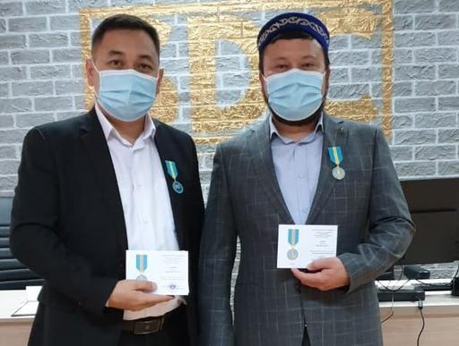 Алматы: Имамдар мерекелік медальмен марапатталды
