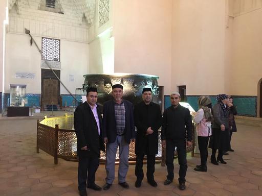 Түркістан: Өзбекстаннан теологтар келді