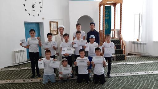 БҚО: Жазғы сауат ашу курсы ұйымдастырылды