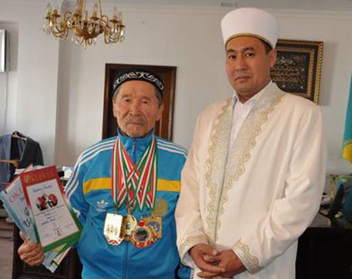 Бас мүфти чемпион имамды қабылдады