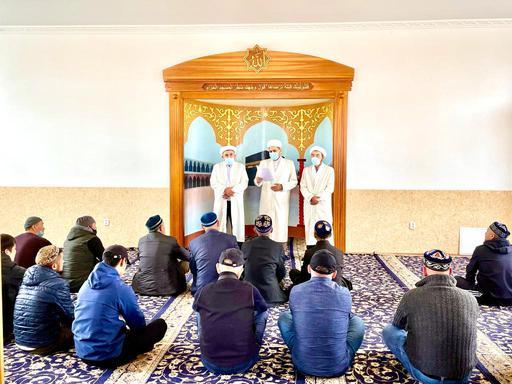 Орал: Мешіт имамы тағайындалды