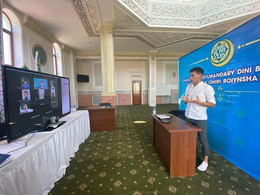 Талдықорған: Жастарға арналған онлайн тренинг өтті