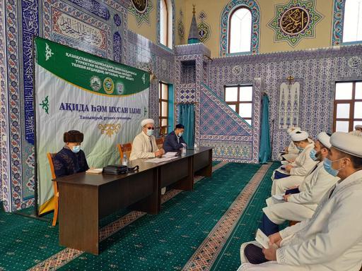 Түркістан: Дін қызметкерлері дәріс оқыды