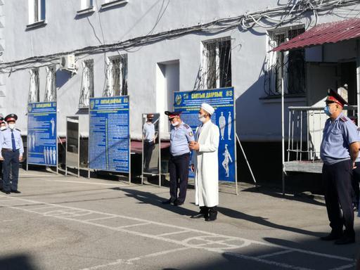 Қарағанды: Күзет мекемесіндегі кездесу