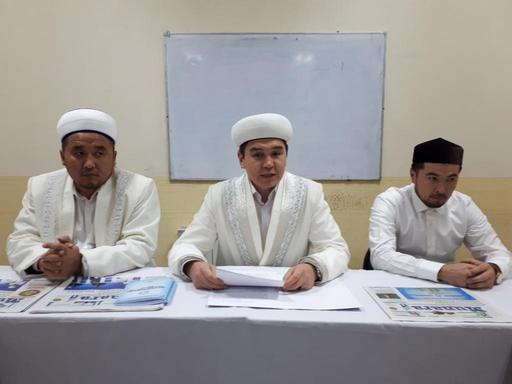 Орал: Ақжайық имамдарына «Мұнара» газеті таныстырылды