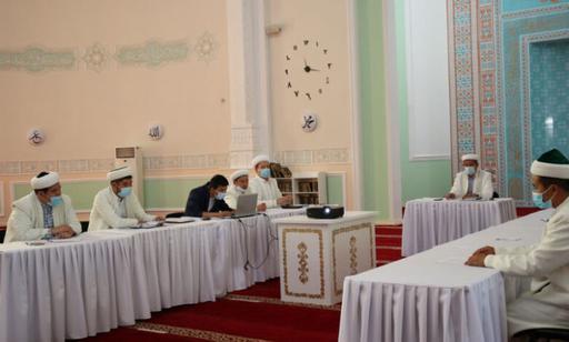Маңғыстау: Аудан имамдарының есебі тыңдалды
