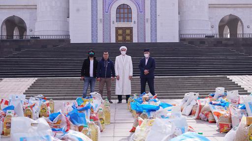 Қызылорда: 100 отбасыға «Ауызашар қоржыны» берілді