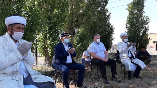Қарағанды: Елдімекендерде құрбан шалып, дұға жасалды