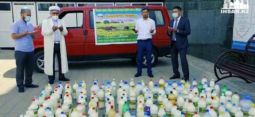 Қарағанды: Дәрігерлерге 500 литр қымыз таратылды