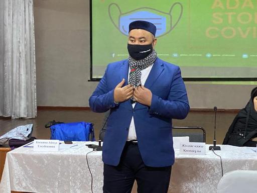 В Жамбылской области провели профилактику коронавируса среди мусульман