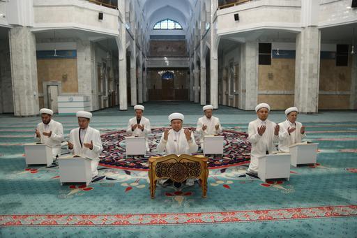 Алматы имамдары Құран хатым дұғасын жасады (ФОТО)