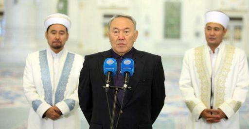 Н.Назарбаев поздравил казахстанцев с праздником Курбан айт