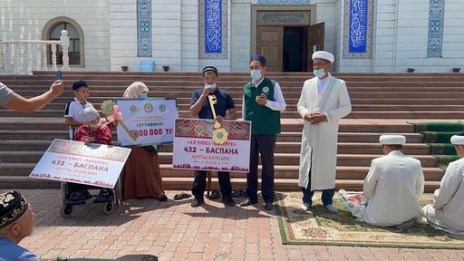 Талдықорған: Екі отбасыға баспана берілді