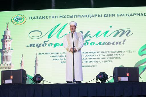 Алматы қаласында өткен Мәуліт мерекесі 2015
