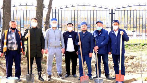 30 игі шара: Жамбыл облысында 3651 түп тал отырғызылды
