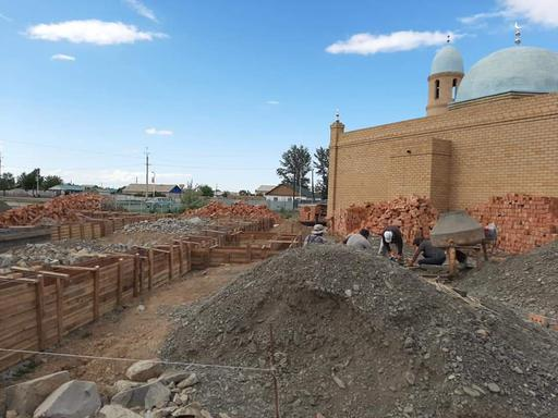 В Тарбагатае началось строительство здания благотворительной организации