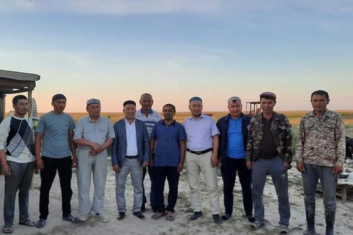 ШҚО: Аудан имамы дихандармен дидарласты
