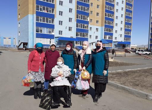 Түркістан: Жүздеген отбасыға көмек беріледі
