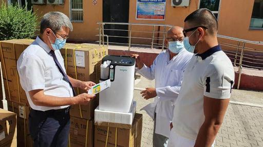 Түркістан: Ауруханаға 16 аппарат тарту етілді