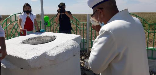 Қарағанды: Тұма бұлағының көзі ашылды
