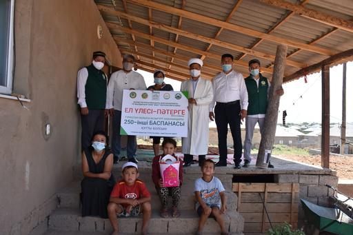 Түркістан: 250-баспана көпбалалы анаға берілді