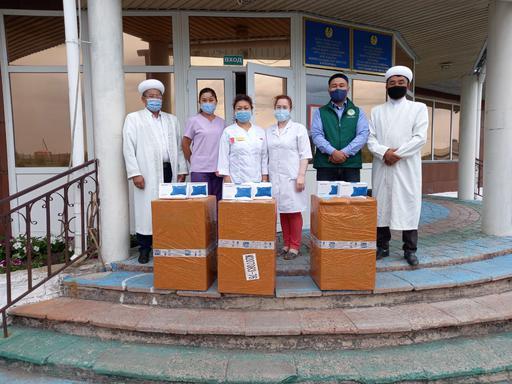 Қарағанды: Ауруханаға ИВЛ аппараттары табысталды