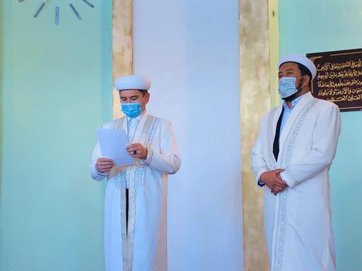 БҚО: Жаңақала ауданына жаңа имамдар тағайындалды