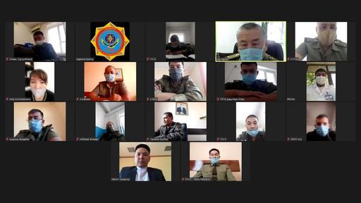 Шымкент: Мешіт имамы онлайн конференцияға қатысты