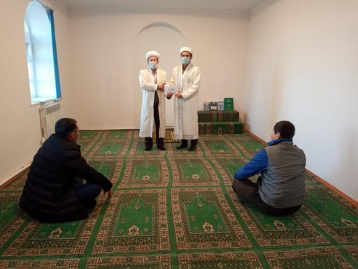 БҚО: Жас имамға қолдау көрсетті