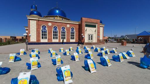 Қызылорда: Қайырымдылық шаралары жалғасуда