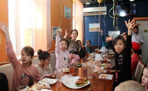 Қызылорда: Балаларға қуаныш сыйлады