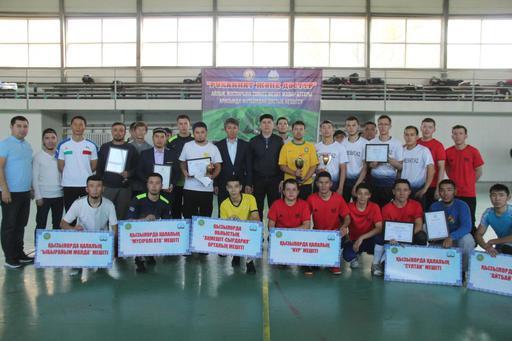 Қызылорда: Мешіт жамағаттары арасында футболдан достық кездесу өтті