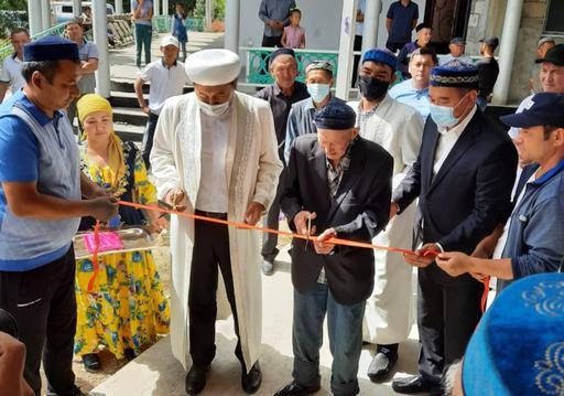Жамбыл облысында 3 қызметтік үй қолданысқа берілді