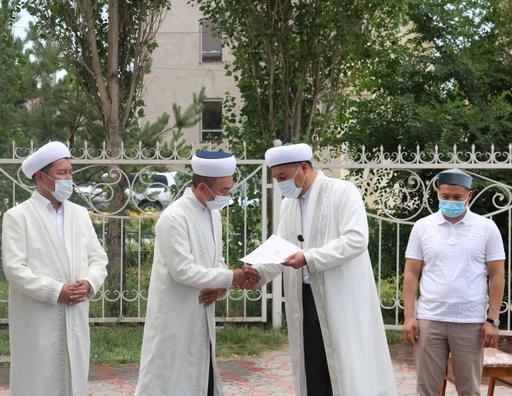 Тараз қаласына жаңадан бас имам тағайындалды