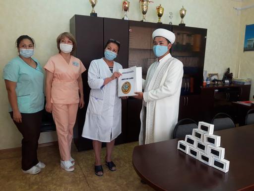 Жаңаөзен: Қалалық емханаға 20 дана пульсоксиметр табысталды