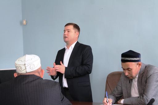 Ағабек Қонарбайұлы Павлодар имамдарына семинар өткізді