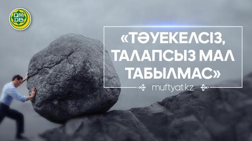 ТӘУЕКЕЛСІЗ, ТАЛАПСЫЗ МАЛ ТАБЫЛМАС