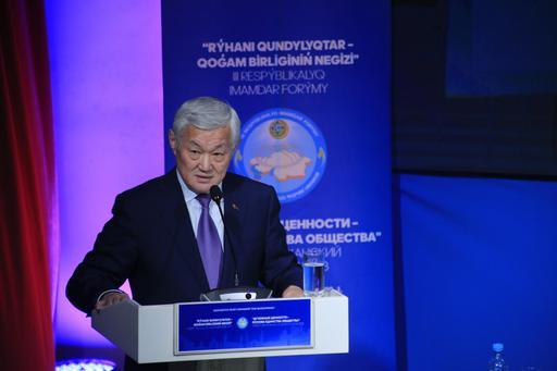 Бердыбек Сапарбаев: Нет развития в обществе без нравственности и стабильности