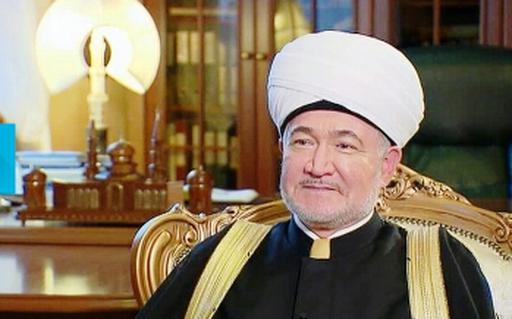 Председатель ДУМ РФ Равиль Гайнутдин поздравил Серикбая кажы Ораза с избранием на пост верховного муфтия Казахстана