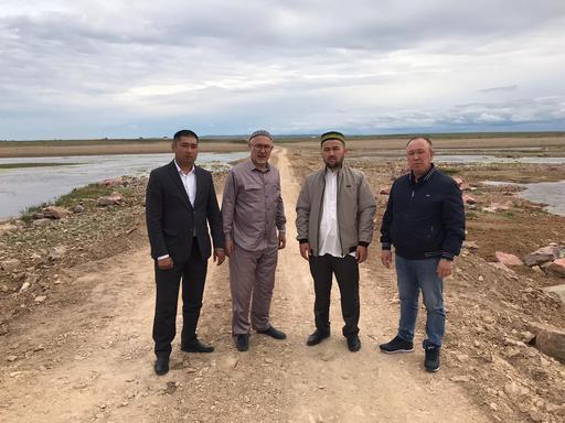 Қарағанды: Ауылдағы өткел қалпына келтірілді