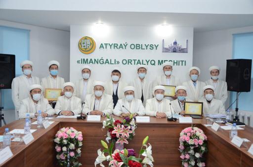 Атырау: Жылдың үздік имамдары марапатталды (ФОТО)