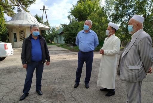 Талғар ауданының әкімі діни ахуалмен танысты