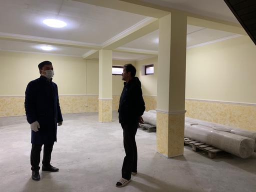 Талғар: Аудан имамы жаңа мешіттің құрылысымен танысты